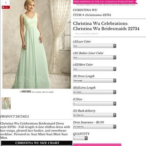 Wedding dress. Never worn.